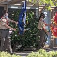 Several Troop members served as the color guard for the Memorial Day observance at our charter organization, St Bartholomew's Episcopal Church