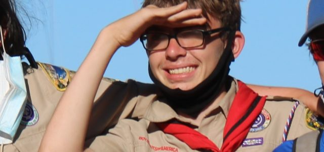 Please join me in congratulating Alex L., Troop 682's newest Eagle Scout. He had his Board of Review this evening and passed easily. They were impressed with his seventy-odd merit badges, and with his COVID-appropriate Eagle project (hand sanitizer stations). Great work Alex! Mr Dickson