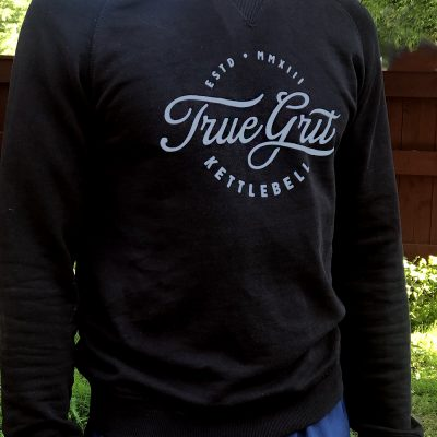 sweatshirt with truegrit print