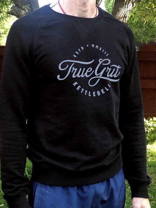 sweatshirt with truegrit print
