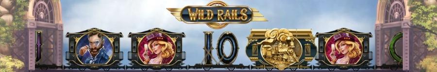 Slot row with wild