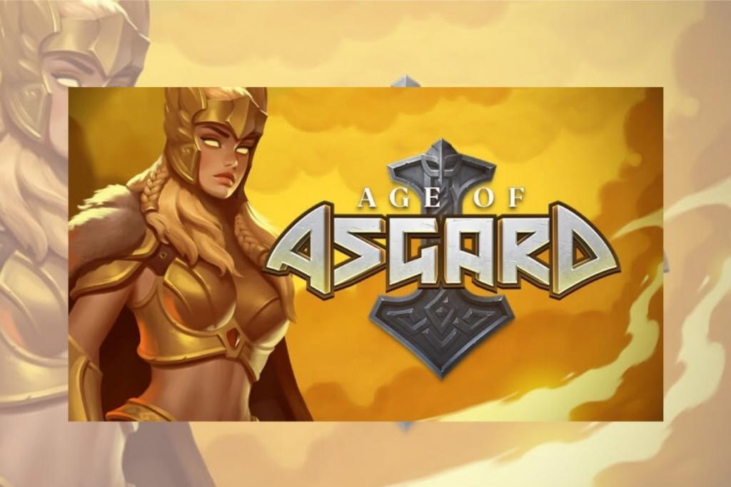 Omslagsbild av Age of Asgard slots spel