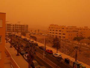 Sturm Calima wütet auf den Kanaren
