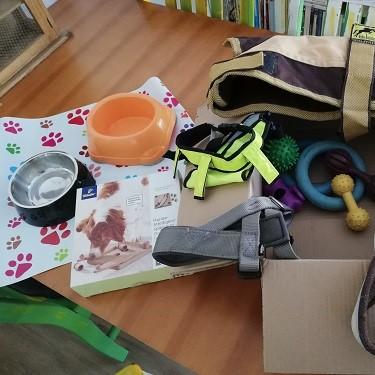 Read more about the article Wir sagen Danke für ein Paket mit Sachspenden