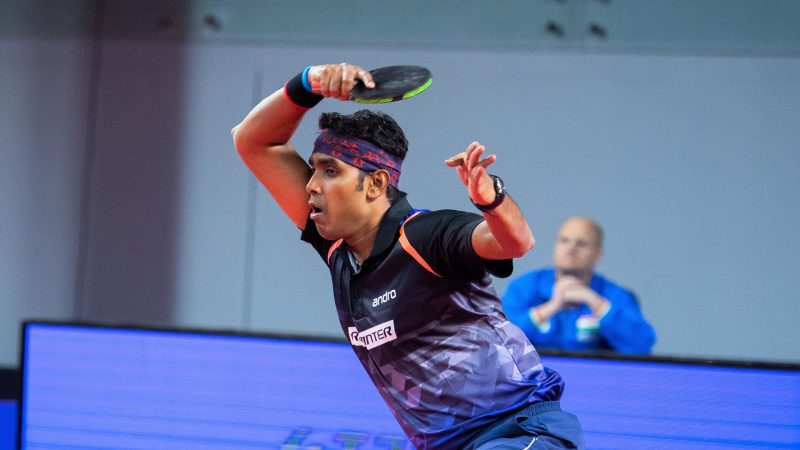37 years young! Sharath Kamal Achanta strikes gold in Muscat