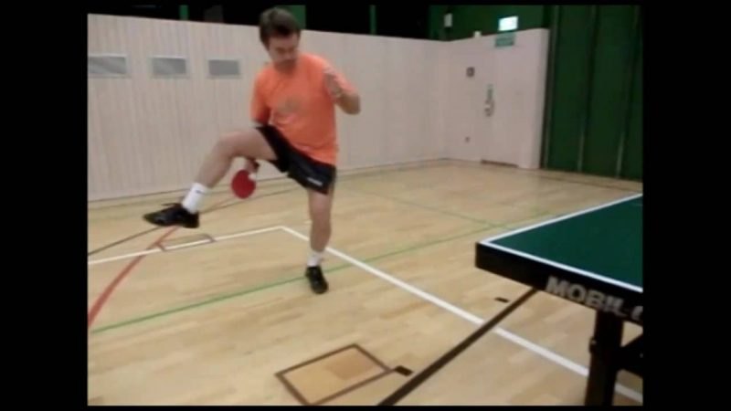 Tischtennis Training Slow motion