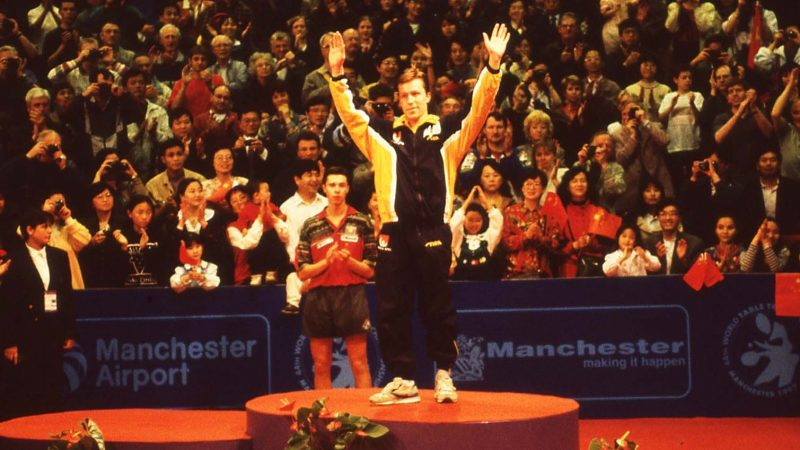 On this day: Jan-Ove Waldner in the mood