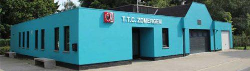 Lokaal sportclub TTC Zomergem
