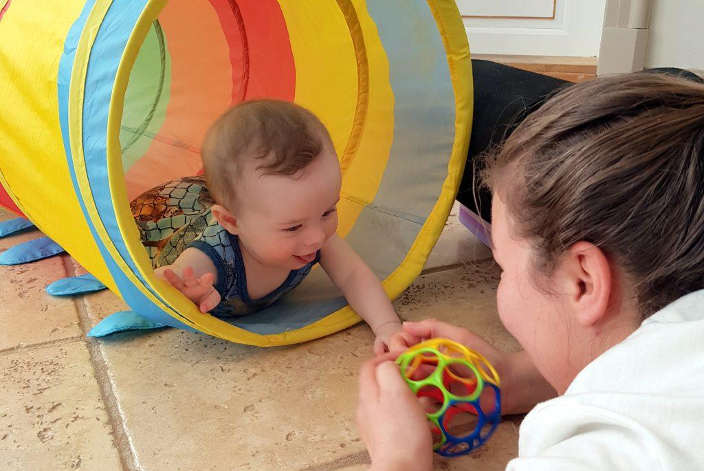 Kryb og kravl for babyer