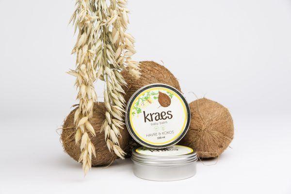 Kraes Baby balm med kokos og havre