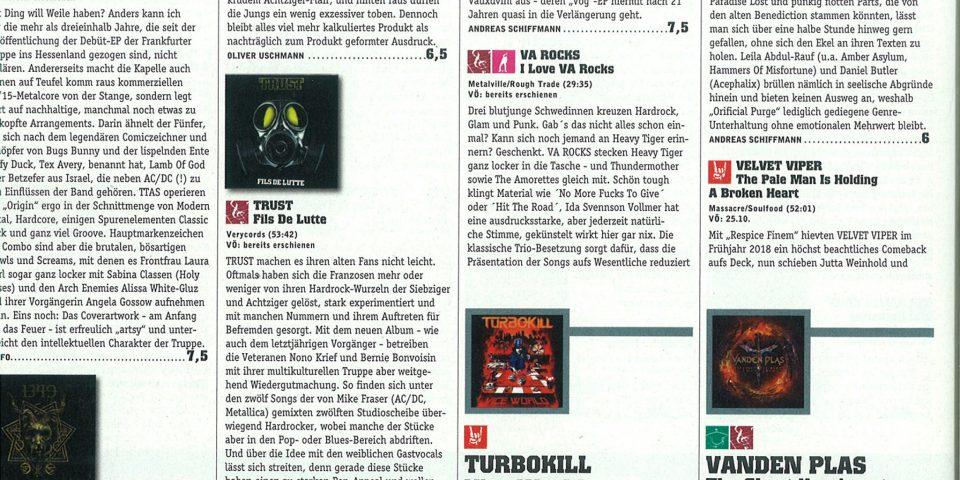 D Rock Hard – Nov2019 – Review