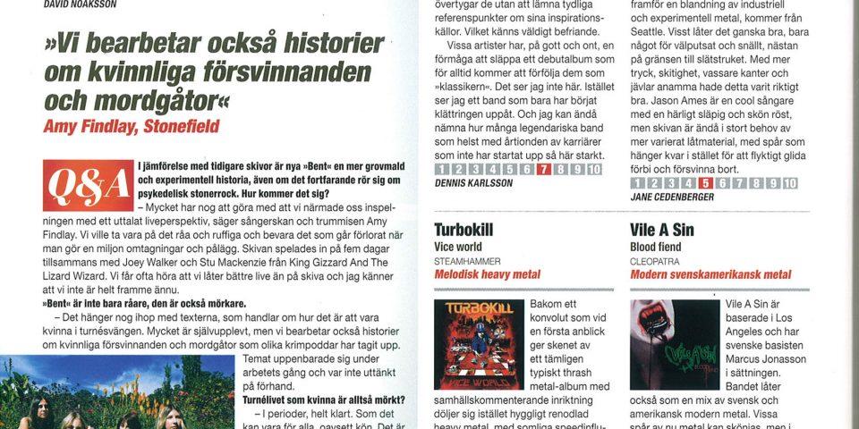 S Sweden Rock – Nov2019 – Review