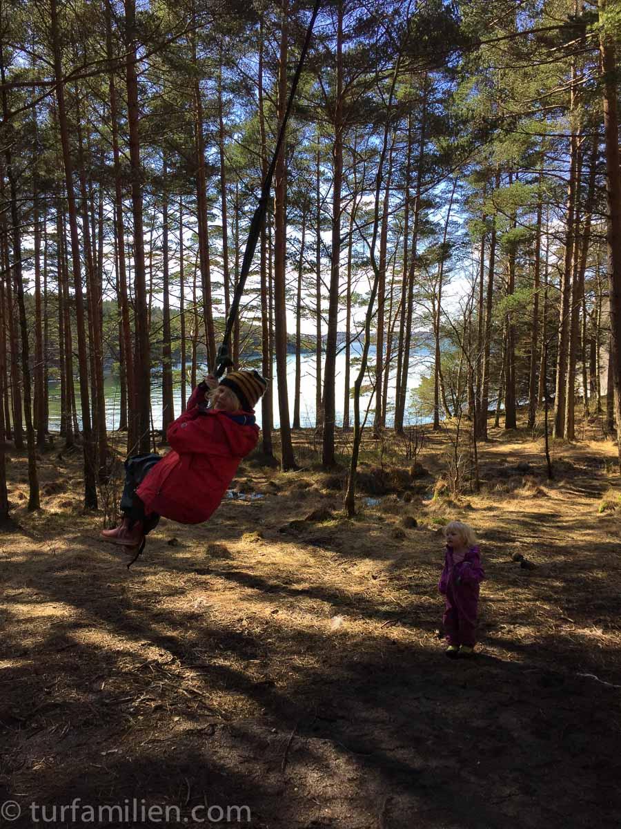 lek i skogen i dalsvågen