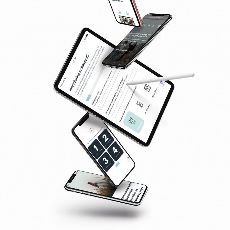 Turn Consultings hemsida