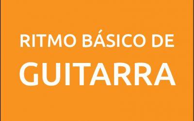 Ritmo básico de guitarra
