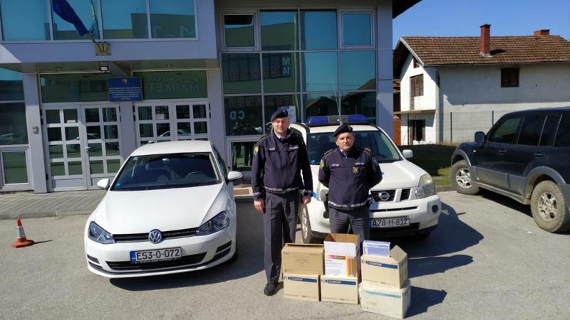 Donacija humanih ljudi iz Beča i Gradiške