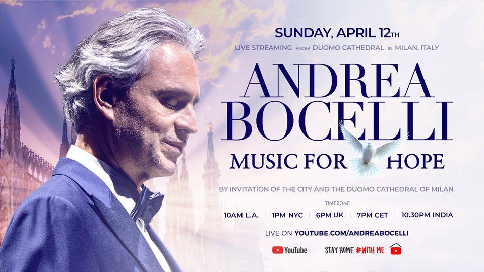 ANDREA BOCELLI održao koncert za pamćenje