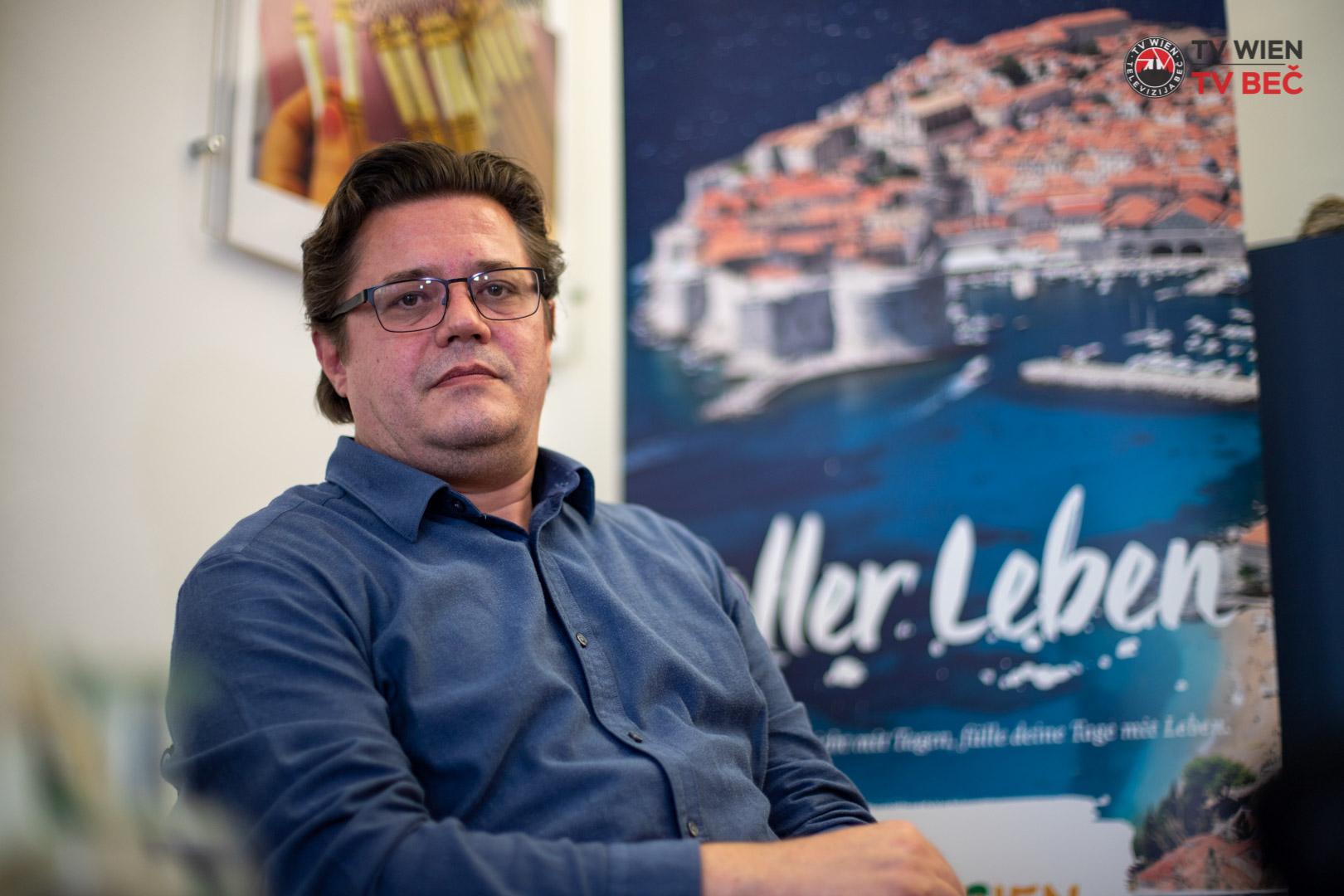 Branimir Tončinić – Direktor predstavništva HTZ-a u Austriji