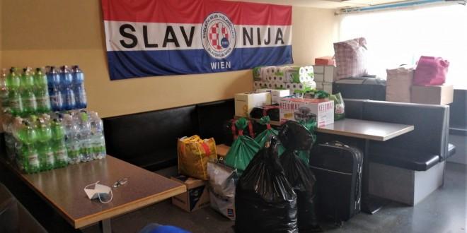 """SOLIDARNOST: Kuglači """"Slavonije"""" i Cafe """" Stefan"""" u Beču prikupljaju humanitarnu pomoć za Sisak, Petrinju i Glinu"""
