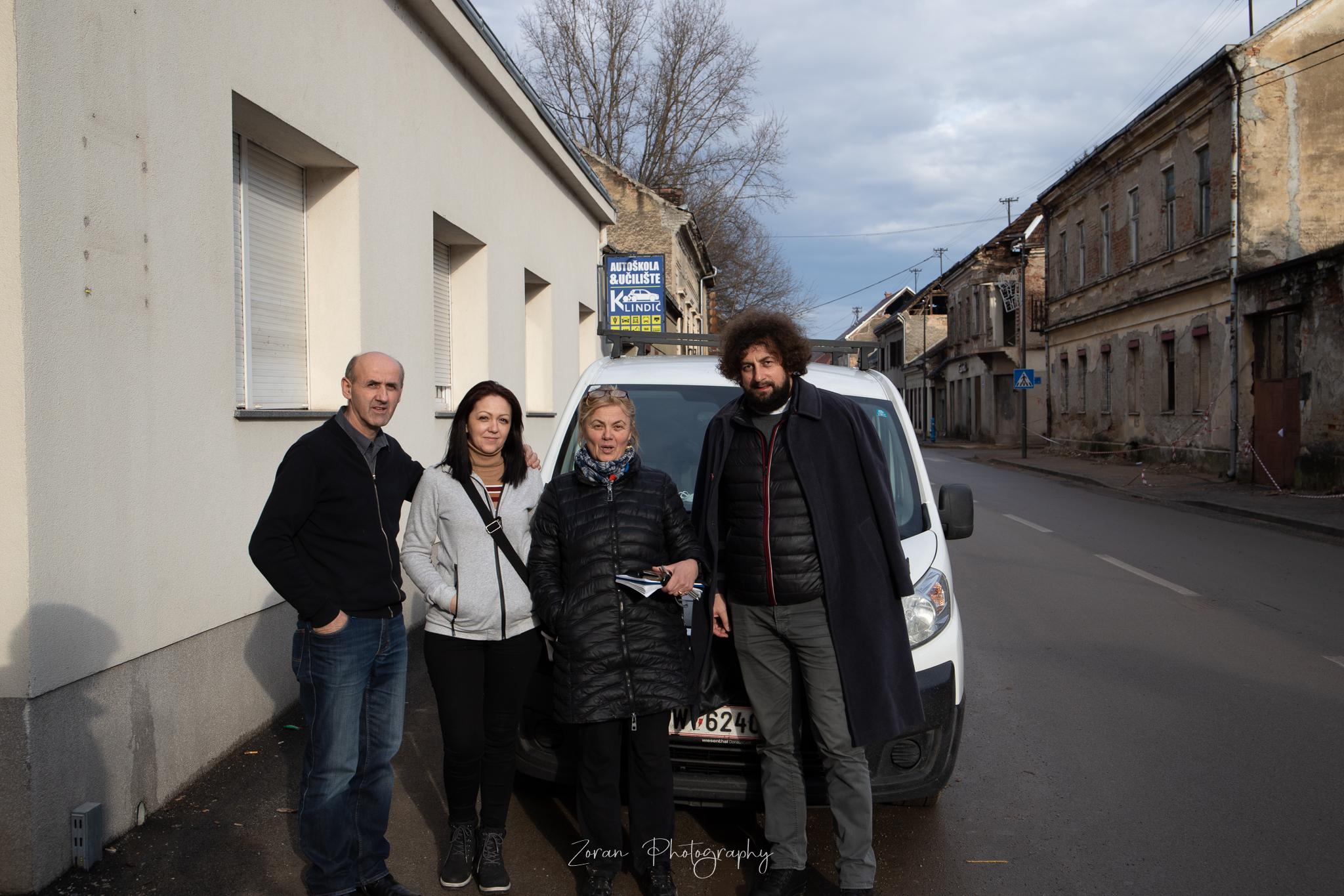 Intervju sa dogradonačelnicom grada Gline – obilazak Gline, Petrinje , Gornje Bačuge