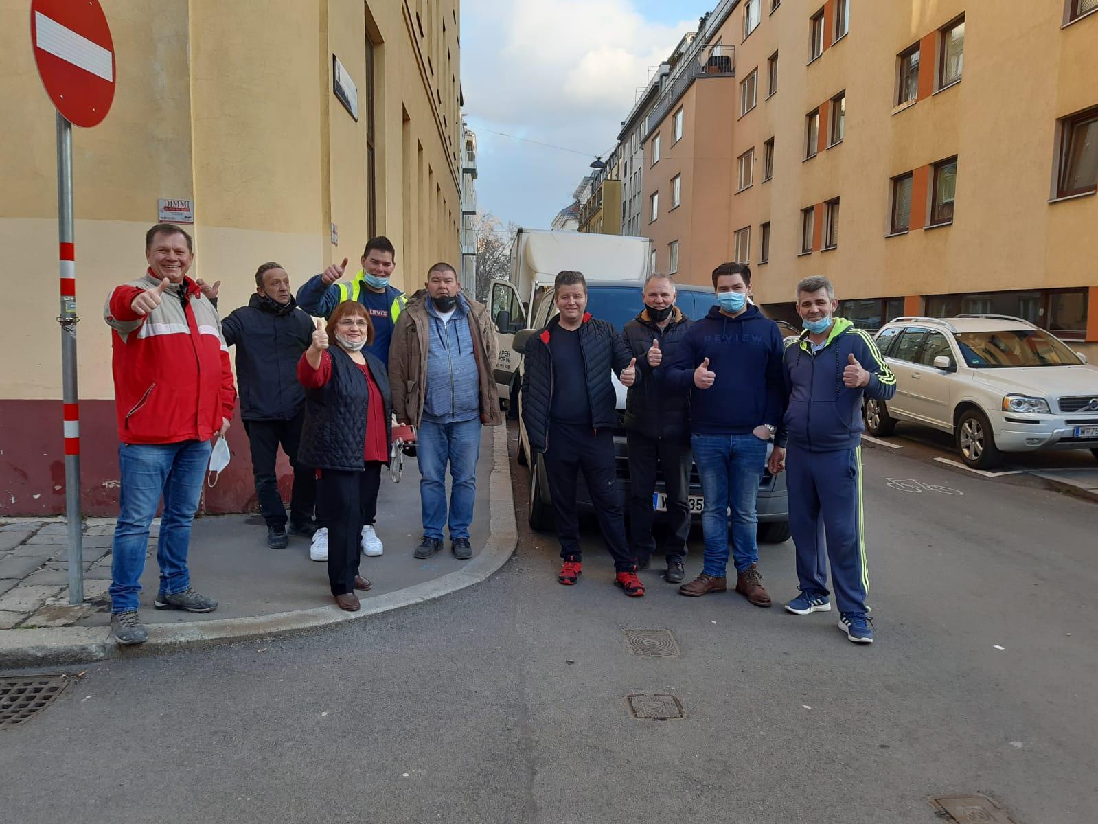 FA Šokadija Beč dostavila skupljene donacije potresom zahvaćena područja Banovine