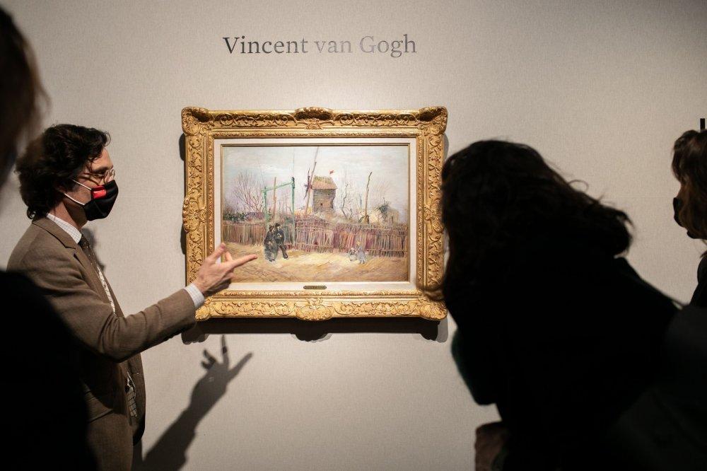 Van Goghova 'Ulična scena na Montmartreu' na aukciji prodana za vrtoglavih 14 milijuna eura