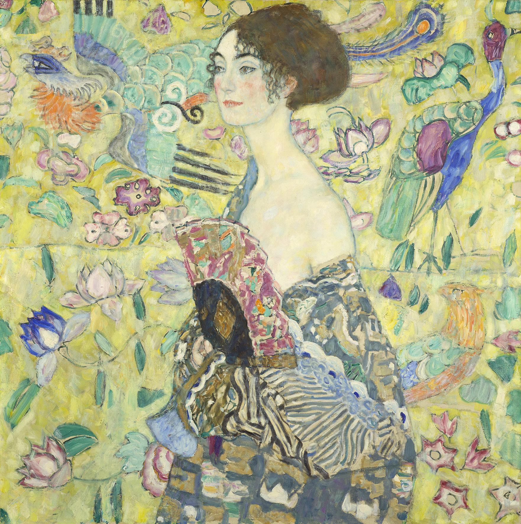 """Klimtova """"Dama s lepezom"""" nakon jednog stoljeća ponovo izložena u Beču"""