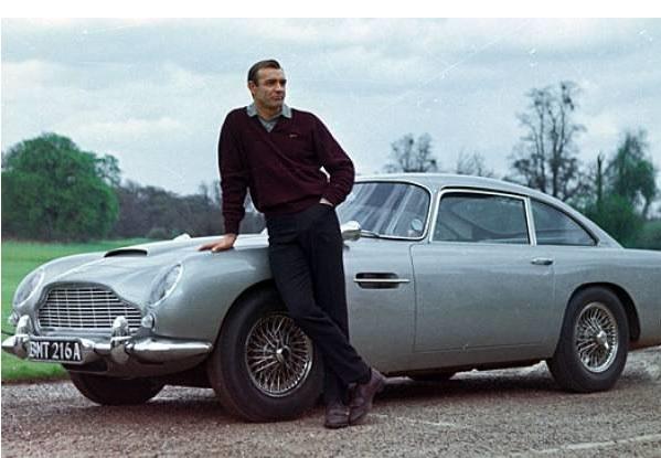 Aston Martin DB5 i Sean Connery 19. ožujka 1964. počeli snimanja za film Goldfinger