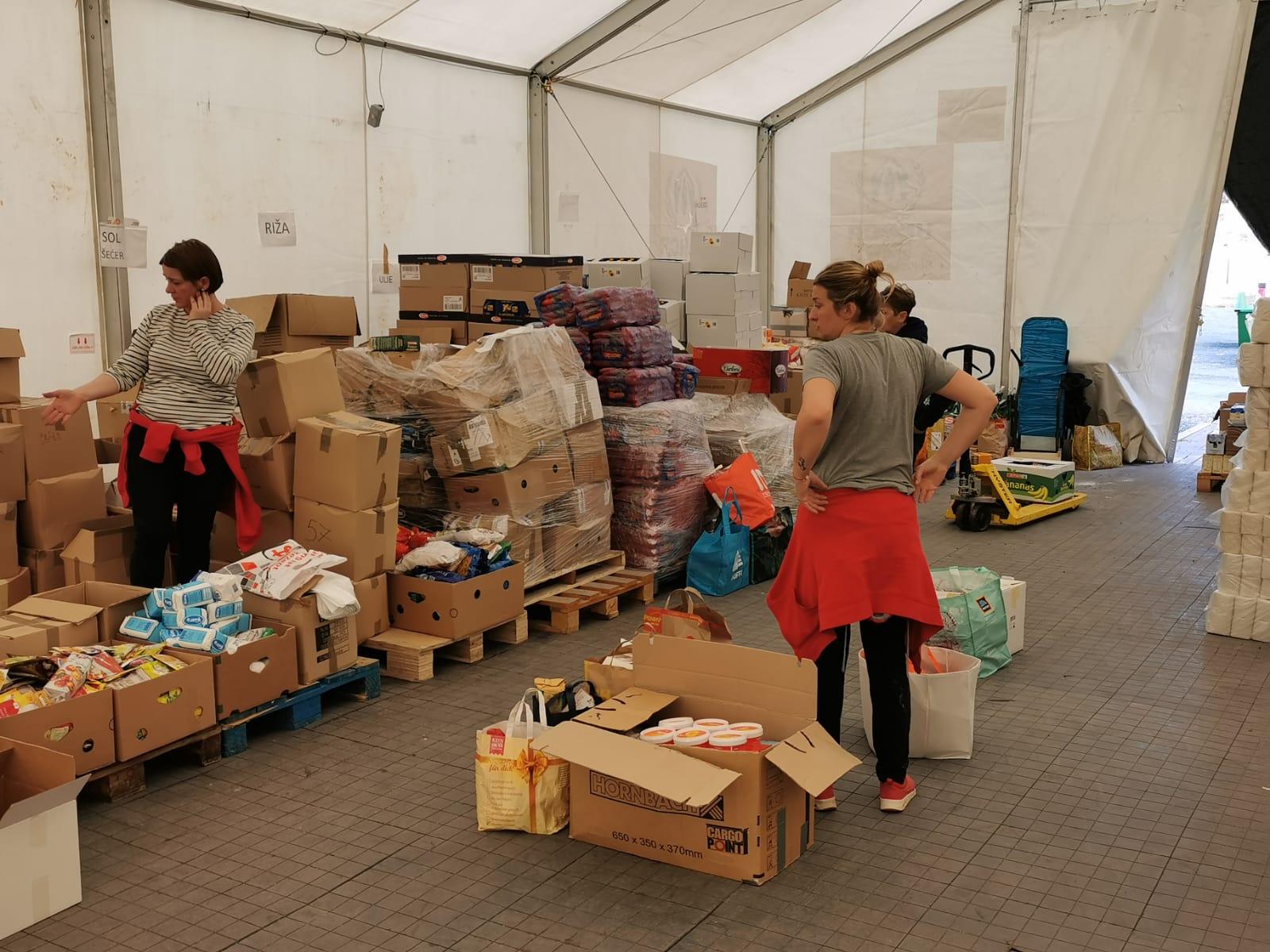 Vrijedna donacija iz Beča za Glinu i Petrinju 13.03.2021