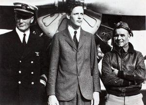 Prvi neprekinuti solo let preko Atlantskog oceana (1927.)