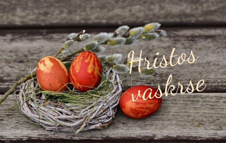 """Svim vjernicima koji Uskrs slave po julijanskom kalendaru """" Hristos vaskrse! """""""