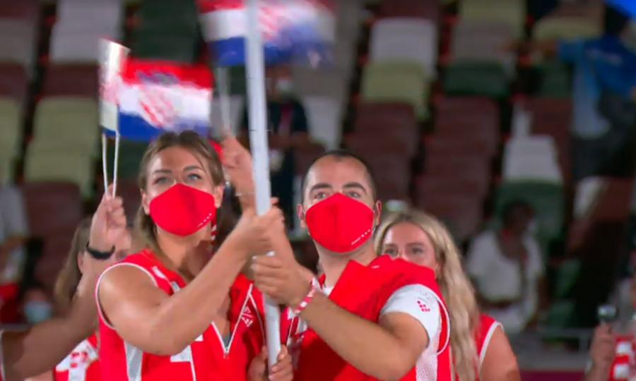 Otvaraju se 32. Olimpijske igre, najčudnije u povijesti; hrvatsku zastavu u mimohodu sportaša nose Sandra Perković i Josip Glasnović