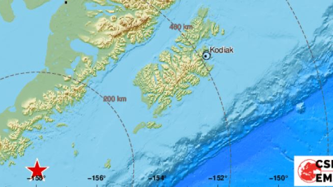 OVO JE STRAVIČNO! OVO JE ZVJERSKI! Brutalan potres jačine 8.2 stupnjeva udario Aljasku: Osjetio se 421 km od epicentra!
