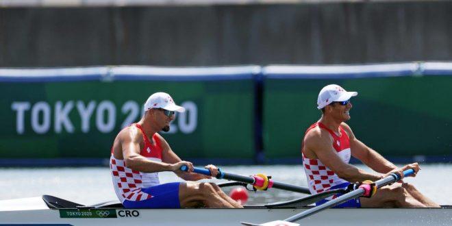 OI TOKIO: Hrvatski dvojac Martin i Vadent Sinković pobijedili su u kvalifikacijskoj utrci dvojac bez kormilara