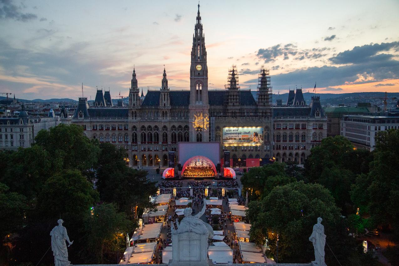 Beč postao velika pozornica na otvorenom