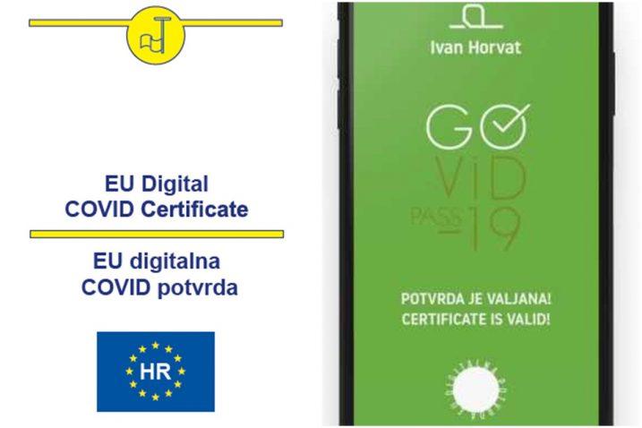 EU digitalne Covid potvrde o cijepljenju od danas vrijede 270 dana