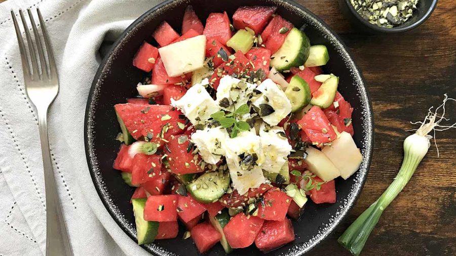 Ljetna salata od lubenice s Feta sirom