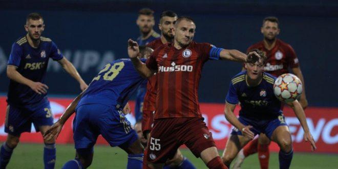 """PRETKOLO LIGE PRVAKA: Dinamo odigrao 1:1 s Legijom, Poljaci izjednačili """"ni iz čega"""""""