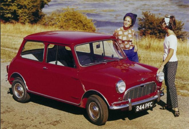 Mini, legendarni mali auto, predstavljen 26. kolovoza 1959., kao Morris Mini Minor i Austin Seven