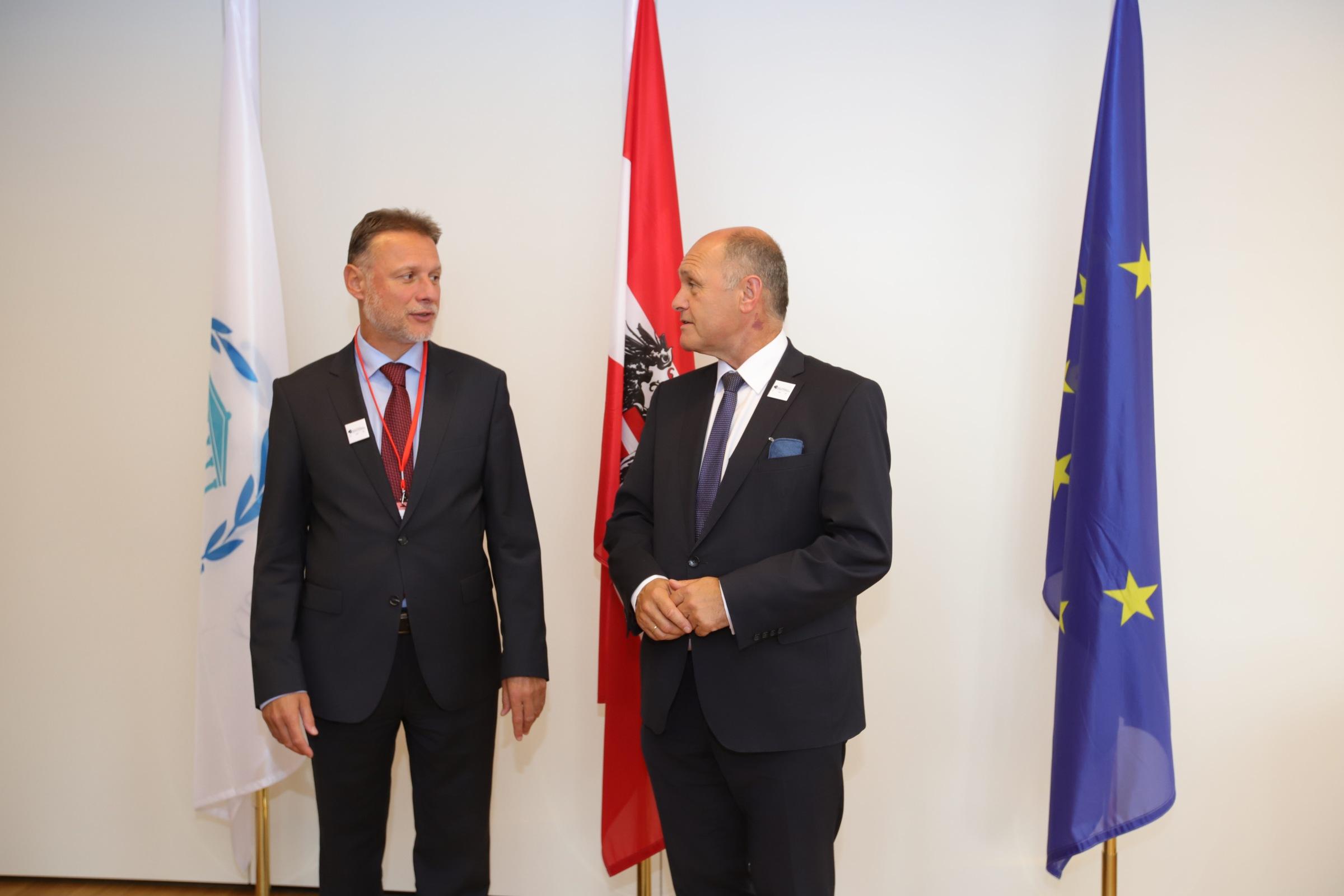 Jandroković u Beču o mogućem migrantskom valu: Nama je u interesu stabilno susjedstvo