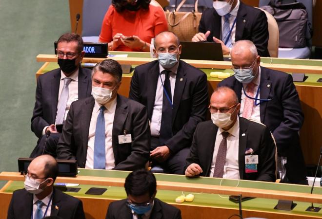 Ministar Grlić Radman na konferenciji Zajednice demokracija i sastanku na visokoj razini o međunarodnom humanitarnom pravu