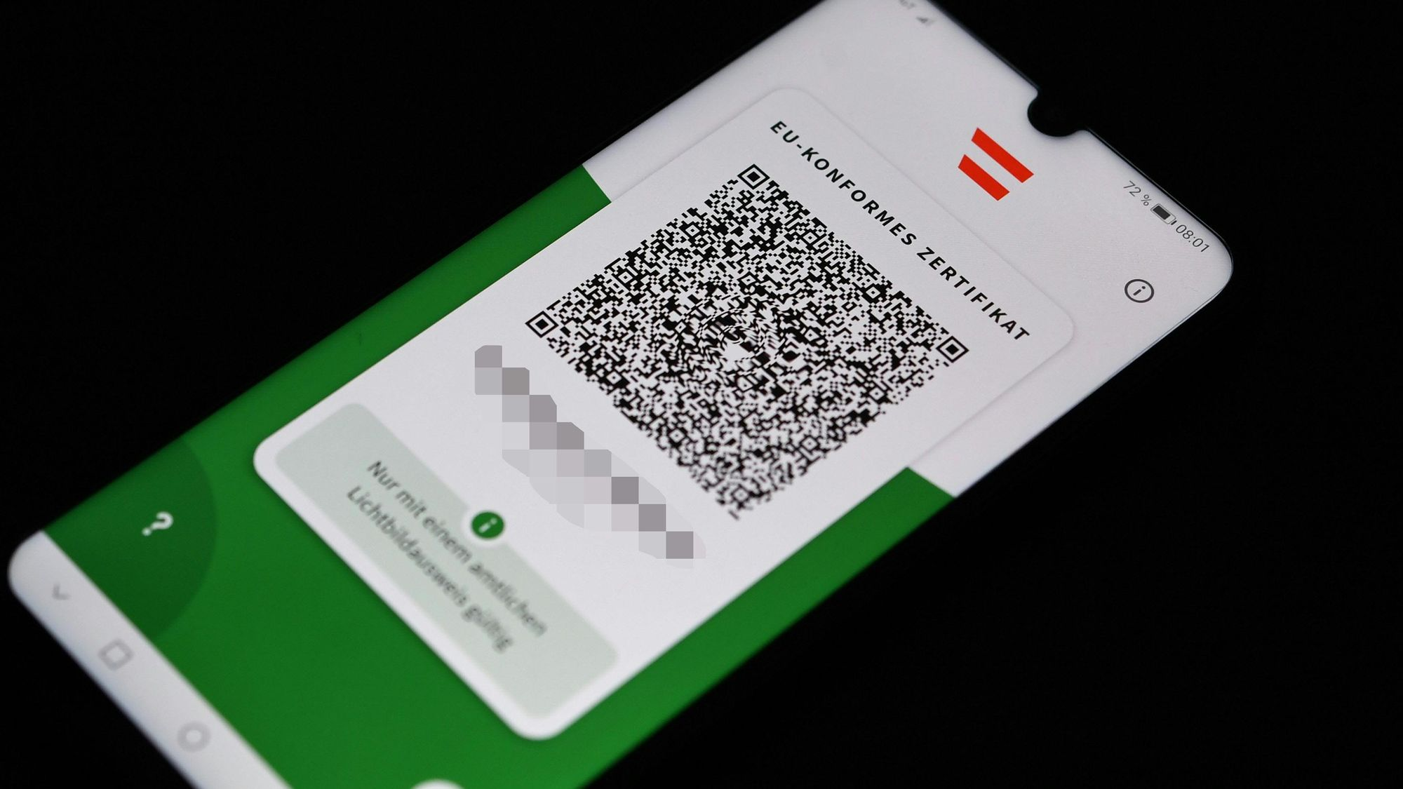 3G dokaz na radnom mjestu na snazi od 1. studenog