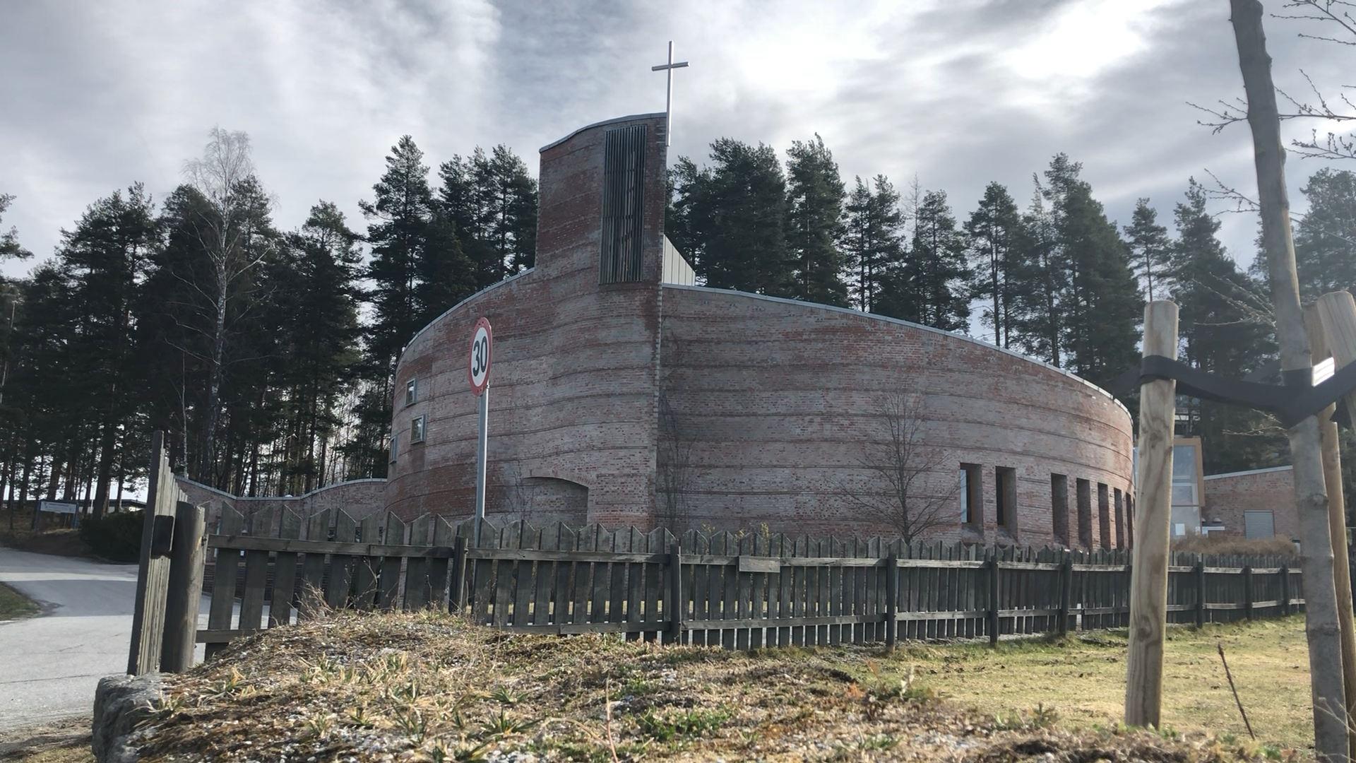 Gudstjeneste fra Åmot kirke 19.04.2020