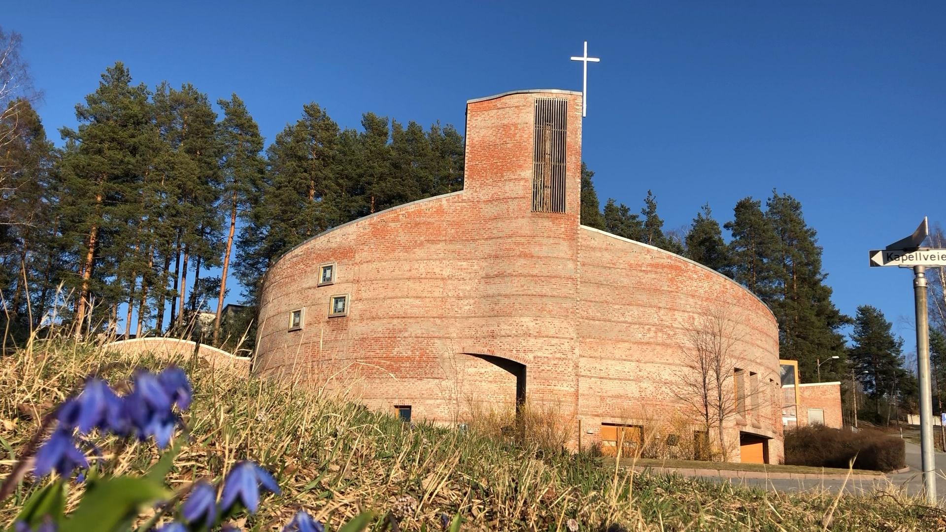 Gudstjeneste fra Åmot kirke 09.04.2020