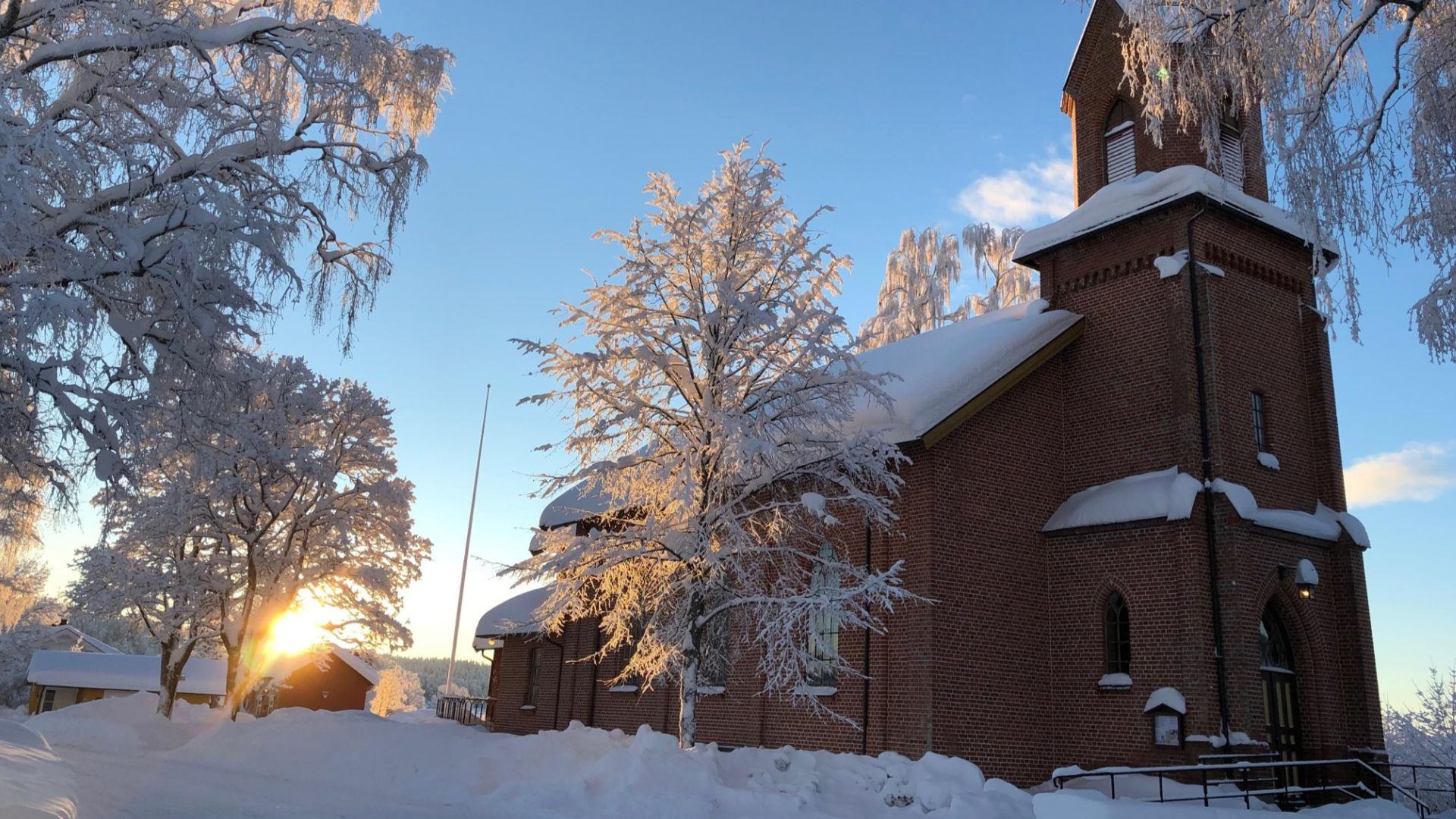 Julegudstjeneste fra Snarum kirke