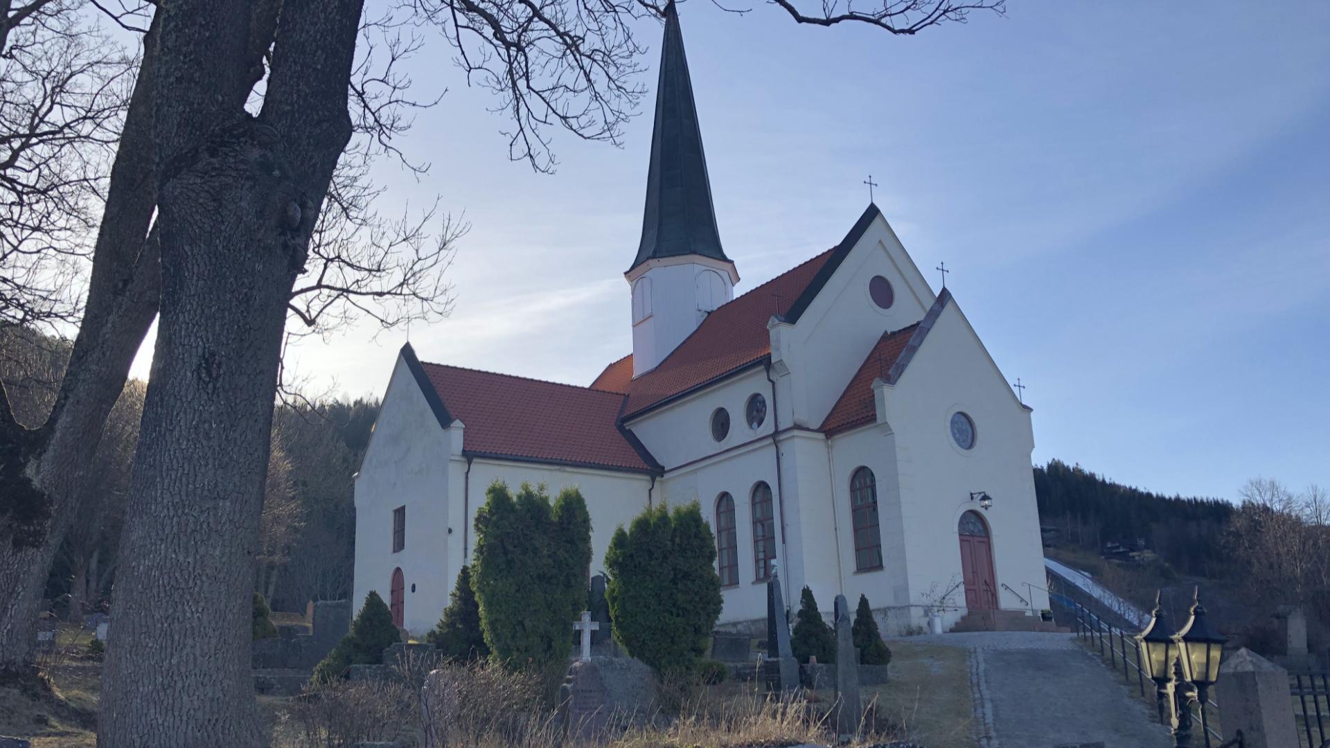 Gudstjeneste fra Heggen kirke 04.04.2021