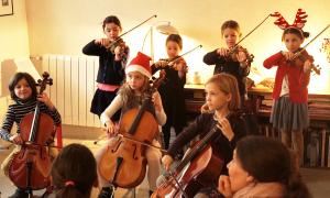 Concert d'élèves de Noël
