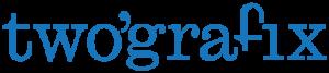 twografix reclamebureau communicatiebureau deinze gent logo blauw retina