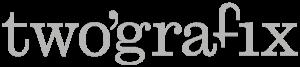 twografix reclamebureau communicatiebureau deinze gent logo grijs 180px