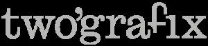 twografix reclamebureau communicatiebureau deinze gent logo grijs retina